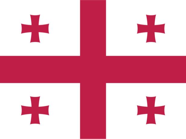прапор Грузії (world-00010)