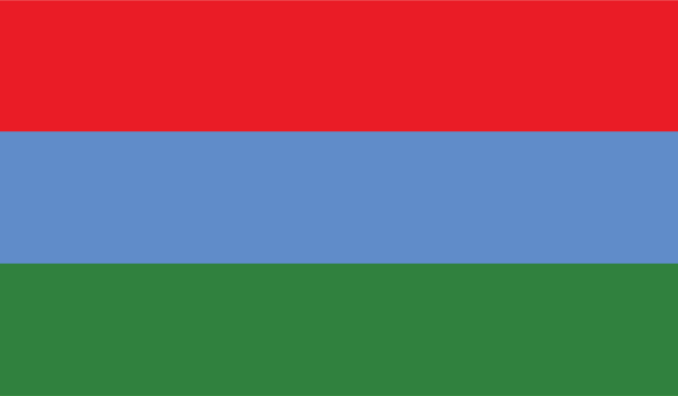 прапор Карелії (world-00088)