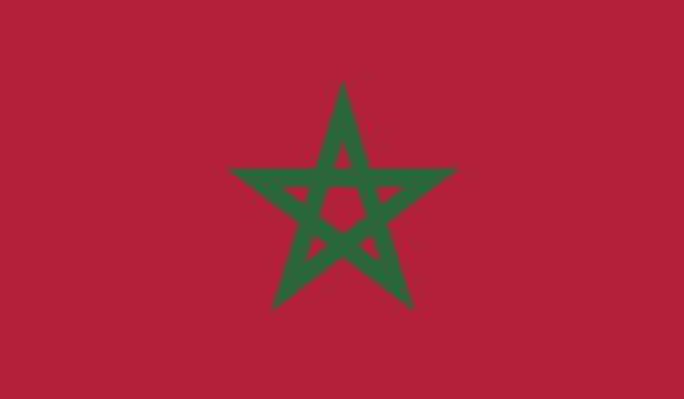 Прапор Марокко (world-00274)