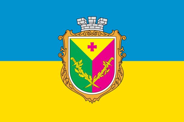 Прапор з гербом Олександрії (flag-000109)