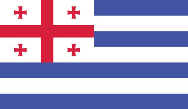 прапор Аджарії (world-00149)