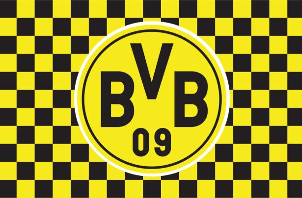 Прапор ФК Боруссія Дортмунд (football-00055)