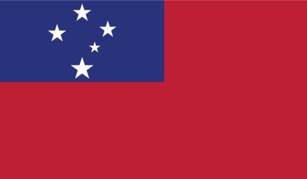 прапор Самоа (world-00039)