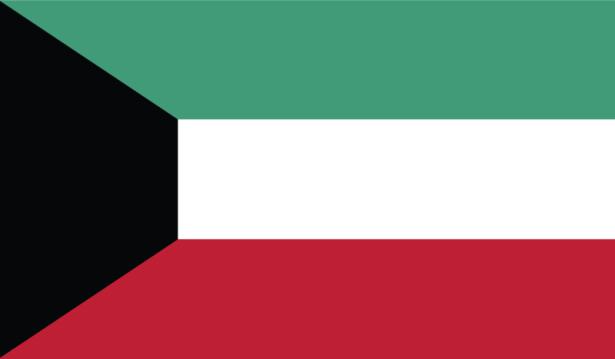 прапор Кувейту (world-00098)
