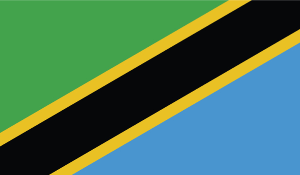 прапор Танзанії (world-00111)