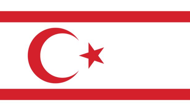 Прапор Турецької Республіки Північного Кіпру (world-00123)