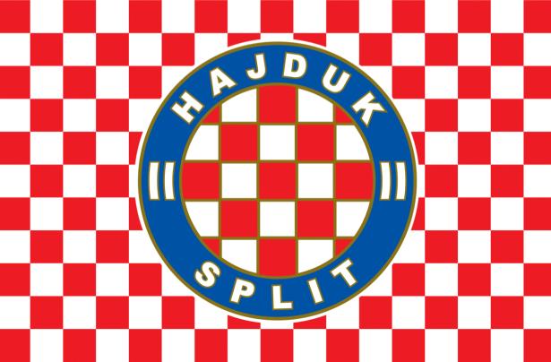 Прапор ФК Хайдук (football-00077)