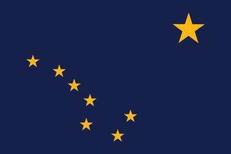 Прапор Аляски (world-00293)
