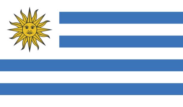 прапор Уругваю (world-00133)
