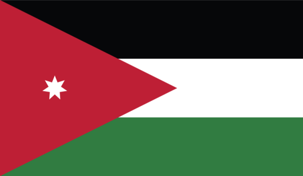 прапор Йорданії (world-00083)