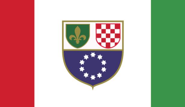 Прапор Федерації Боснії і Герцеговини (world-00180)