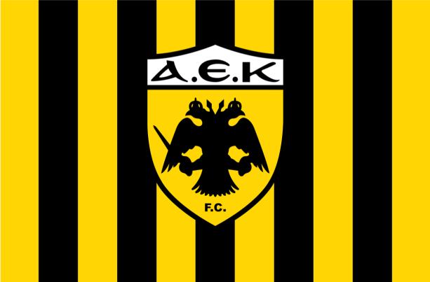 Прапор ФК AEK (football-00081)