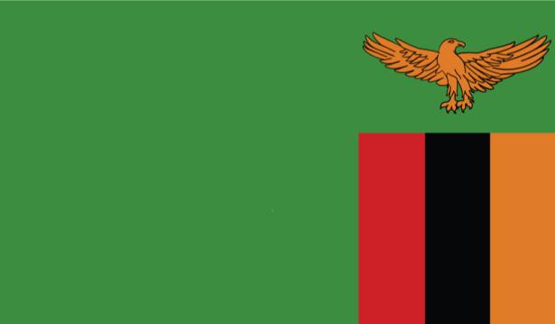 прапор Замбії (world-00144)