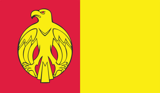 Прапор Кіровоградської області (flag-00014)