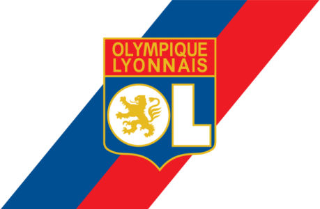 Прапор ФК Олімпік Ліон (football-00063)
