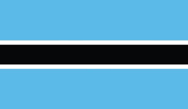 Прапор Ботсвани (world-00182)