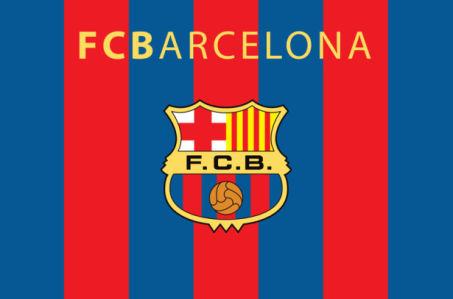 прапор ФК Барселони (football-00021)