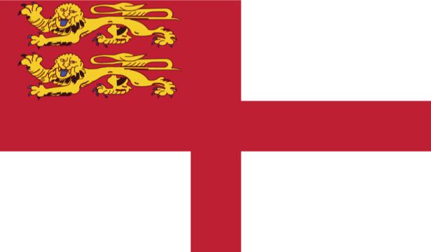 прапор Сарк (world-00042)