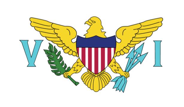 Прапор Американських Віргінських островів (world-00140)