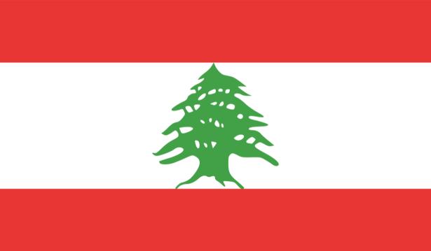 Прапор Лівану (world-00246)