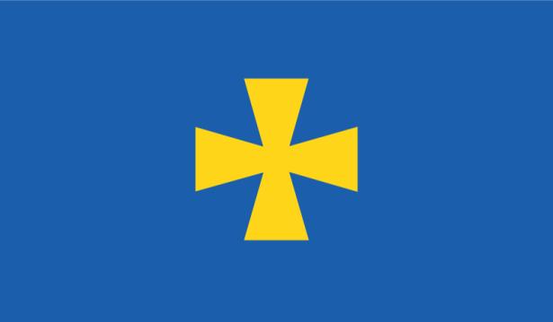 Прапор Полтавської області (flag-00041)