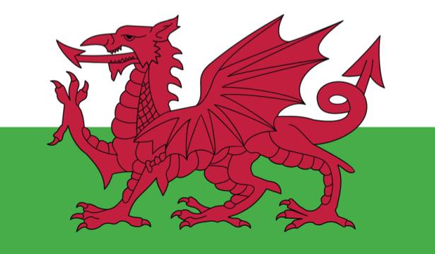 прапор Уельсу (world-00141)