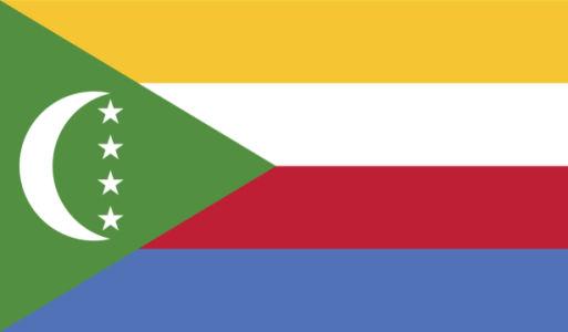 Прапор Коморських Островів (world-00208)