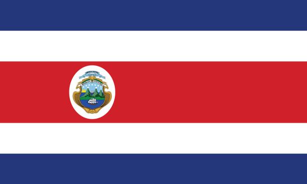 Прапор Коста-Рики (world-00212)