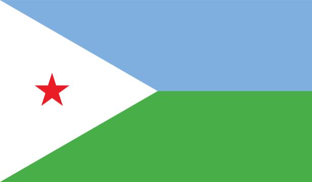 Прапор Джибуті (world-00221)