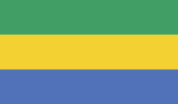 Прапор Габону (world-00241)