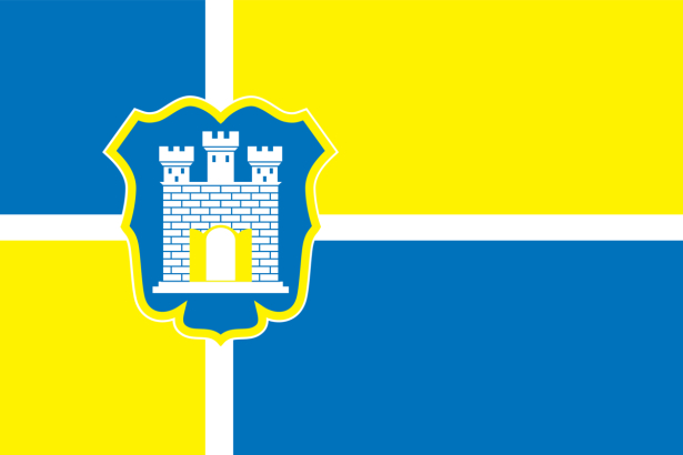 прапор міста Житомир (flag-00085)
