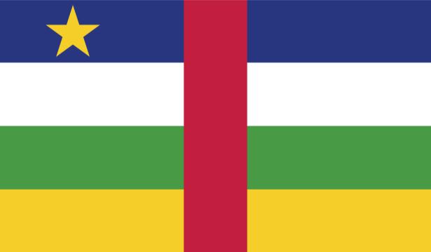 Прапор Центральноафриканської Республіки (world-00199)