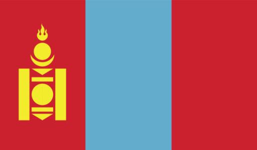 Прапор Монголії (world-00270)
