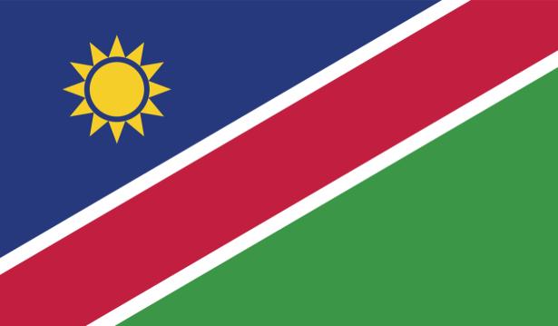 Прапор Намібії (world-00278)